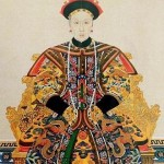 ancient empress wearing pearls
